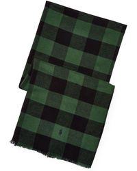 Polo Ralph Lauren - Buffalo Check Cotton Scarf - Lyst