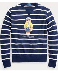 Polo Ralph Lauren Damen V-Neck Longleeve Shirt Langarm T-Shirt white
