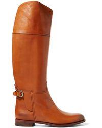 Ralph Lauren - Sallen Calfskin Boot - Lyst