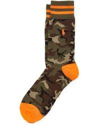 Polo Ralph Lauren Chaussettes camouflage - Multicolore