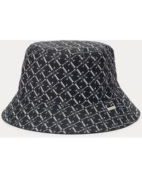 Ralph Lauren Reversible Logo Bucket Hat - Black