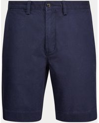 Polo Ralph Lauren Classic-Fit Stretch-Shorts - Blau