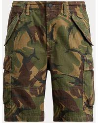 Polo Ralph Lauren Classic Fit Camouflage-Shorts - Grün