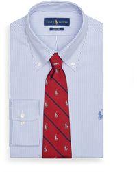 Polo Ralph Lauren Custom-Fit Hemd mit Streifen - Blau