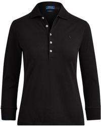 Polo Ralph Lauren - Slim Fit Stretch Polo Shirt - Lyst