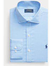 Polo Ralph Lauren Slim-Fit Popelinehemd - Blau