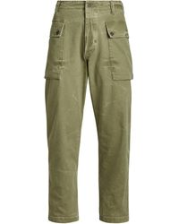 Ralph Lauren Relaxed Fit Twill Pant - Green