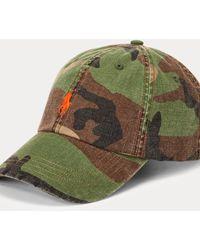 Polo Ralph Lauren - Camouflage-Baseballkappe aus Segeltuch - Lyst