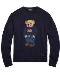 Polo Ralph Lauren - The Iconic Polo Bear Sweater - Lyst