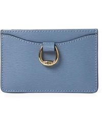 Ralph Lauren - Saffiano Leather Card Case - Lyst