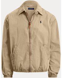 Polo Ralph Lauren Bayport Cotton Windbreaker Jacket - Multicolour