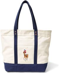 Polo Ralph Lauren - Canvas Big Pony Tote - Lyst