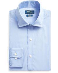 Ralph Lauren Slim Fit Oxford Shirt - Blue