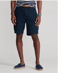 Polo Ralph Lauren 9.5-inch Relaxed Fit Ripstop Cargo Short - Blue