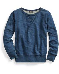 RRL - Cotton French Terry Sweatshirt - Lyst