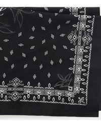 Polo Ralph Lauren Logotuch mit Bandana-Druck - Schwarz