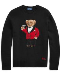 Polo Ralph Lauren - Lunar New Year Bear Crew Knit - Lyst