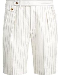 Polo Ralph Lauren Classic-Fit Shorts mit Falten - Mehrfarbig