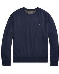 6573e19982ec Lyst - Polo Ralph Lauren French Terry Sweatshirt in Black for Men