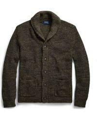 e2e0ceee9 Polo Ralph Lauren Merino Wool Shawl Cardigan for Men - Lyst