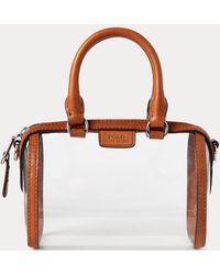 Polo Ralph Lauren Transparente Reisetasche Camden - Mehrfarbig