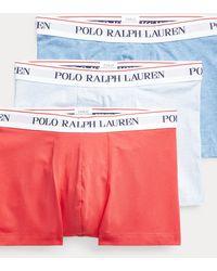 Polo Ralph Lauren Paquete De 3 Bóxers Clásicos De Algodón - Multicolor