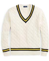 Polo Ralph Lauren Der klassische Cricketpullover - Natur