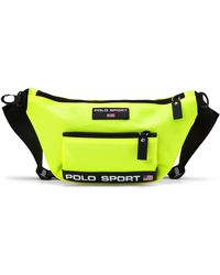 Ralph Lauren Polo Sport Nylon Waist Pack - Yellow