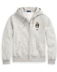 Polo Ralph Lauren - Polo Bear Fleece Hoodie - Lyst