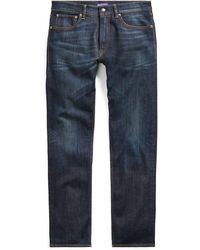 Ralph Lauren Purple Label - Straight Fit Stretch Jean - Lyst