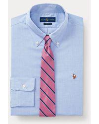 Polo Ralph Lauren Custom-Fit Oxfordhemd - Blau