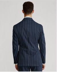 Polo Ralph Lauren Veste de costume Polo Soft en sergé - Bleu