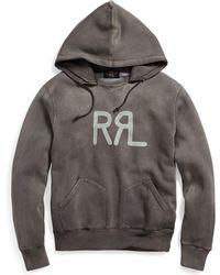RRL - Cotton-blend Graphic Hoodie - Lyst
