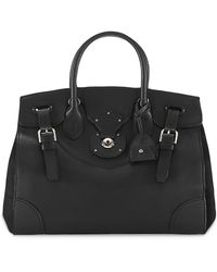 Ralph Lauren Nappa Leather Soft Ricky 33 - Black