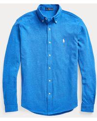 Polo Ralph Lauren Camicia ultraleggera in piqué - Blu