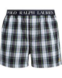 Polo Ralph Lauren Boxer en coton - Bleu