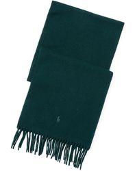 Polo Ralph Lauren Foulard en coton poney distinctif - Vert