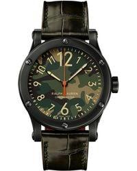 Ralph Lauren - 39mm Chronometer Steel - Lyst