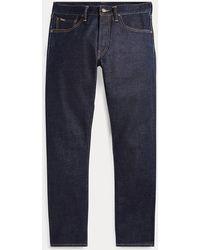 Polo Ralph Lauren Slim-Fit Selvedge-Jeans Sullivan - Blau