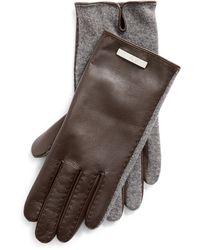 Ralph Lauren Sheepskin Gloves - Brown