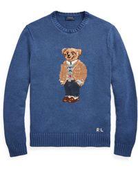 Polo Ralph Lauren Polo Bear Sweater - Blue