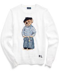 Ralph Lauren - Polo Bear Cotton Jumper - Lyst