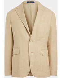 Polo Ralph Lauren Veste de costume Polo stretch à chevrons - Neutre