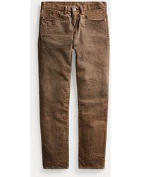 RRL Jeans Slim Fit - Marrón