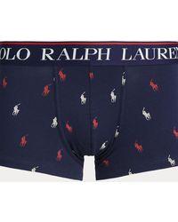 Polo Ralph Lauren Bóxer De Punto De Hombre Azul