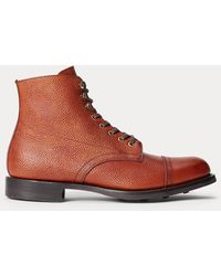 RRL Livingstone Leather Boot - Brown