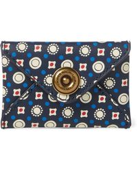 Ralph Lauren - Leather Envelope Card Case - Lyst