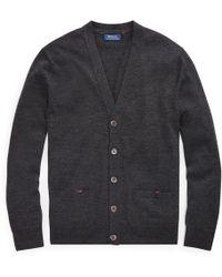 Polo Ralph Lauren - Washable Merino Wool Cardigan - Lyst