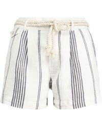 Polo Ralph Lauren Striped Linen Short - Multicolor