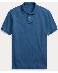 Polo Ralph Lauren Classic-Fit Piqué-Polohemd - Blau